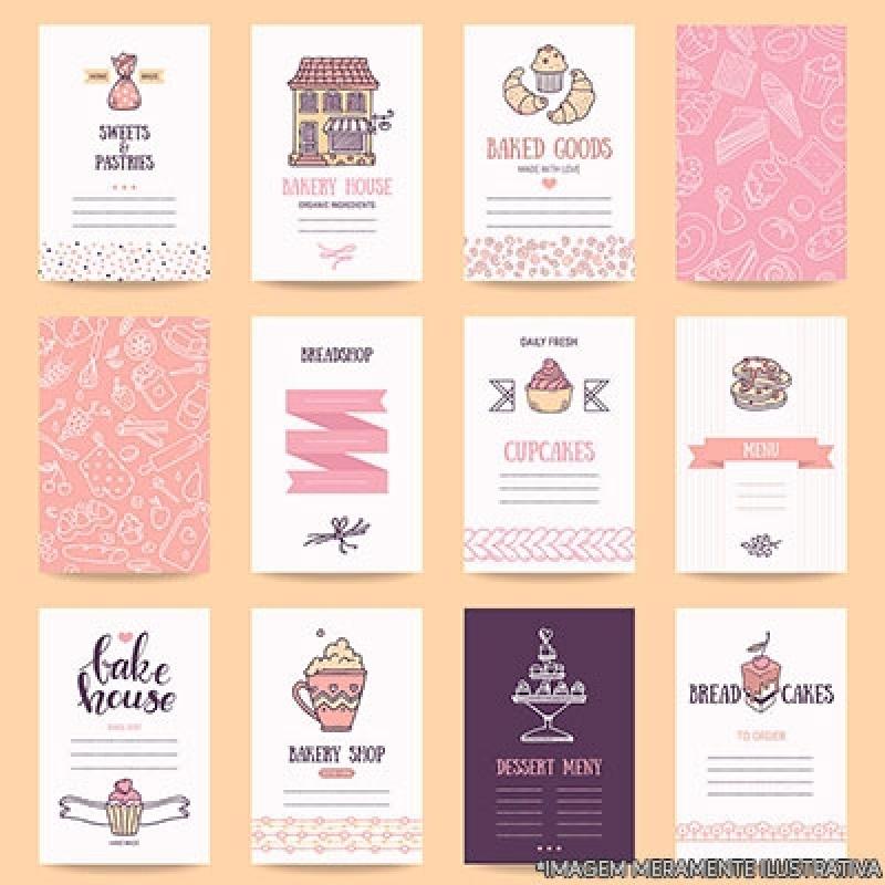 cartão de visita personalizado Santo Amaro