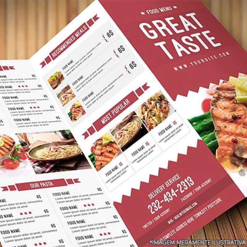 Folhetos Restaurante Barra Funda - Folhetos Personalizado para Mercado