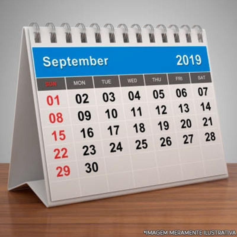 Onde Faz Calendário Personalizado Empresa Barra Funda - Calendário Personalizado com Logo