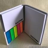 bloco personalizado colorido