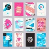 comprar impressão de cartão de visita colorido Jardim Vazani