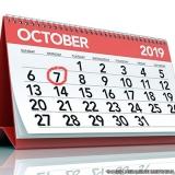 encomendar calendário personalizado escritório Centro