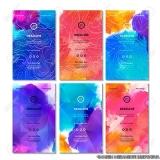 orçamento de impressão de cartão de visita colorido Moema